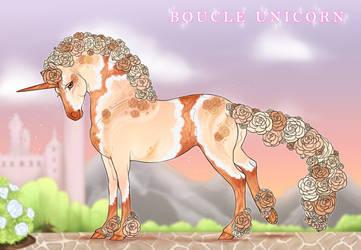 Boucle Unicorn Import H090 by SilveringOak