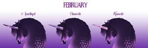 Amethyst - February