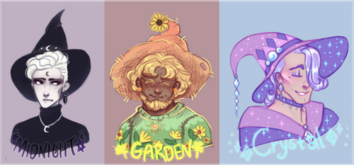 Whimsical Wizard Adoptables - Cancelled.