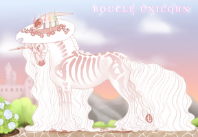 Boucle Unicorn Import P056 by SilveringOak