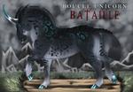 Boucle Unicorn Bataille Import X322