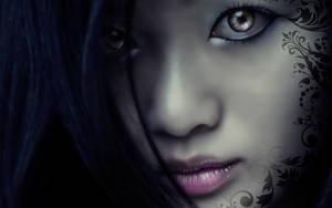 VoodooBiatchWallpaper_07 by Akeiron