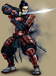 Samurai by Akeiron