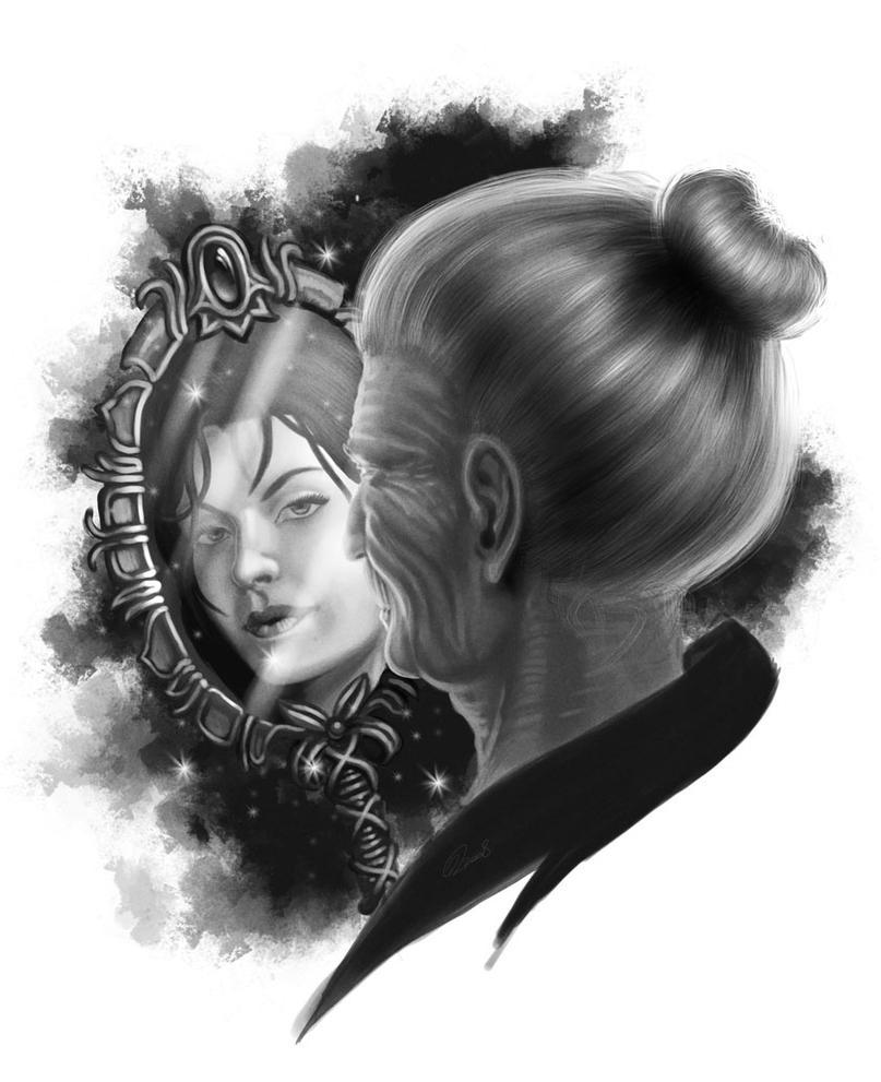 Specchio dell 39 irrealta by akeiron on deviantart - Specchio dell amata parafrasi ...