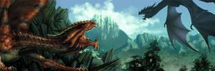 Banner Dragons' Lair