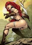Red Sonja - colors