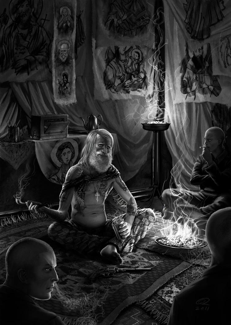 Nonno Nagant by Akeiron
