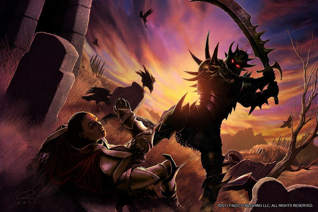 Graveknight VS Seelah by Akeiron