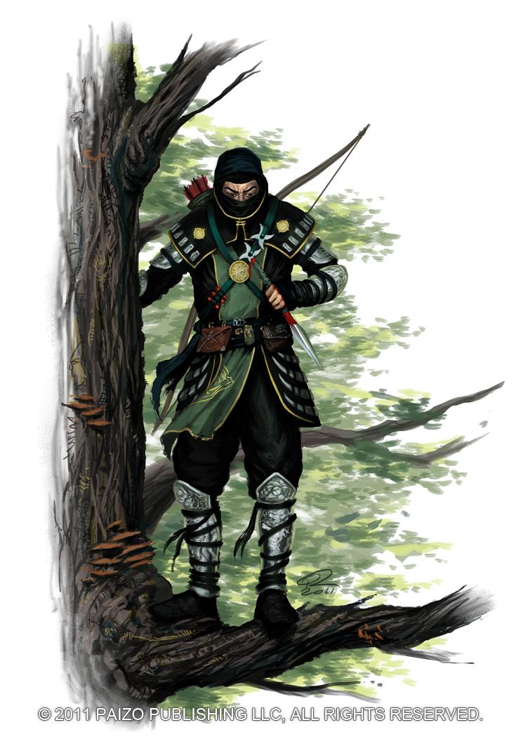 Ninja by Akeiron
