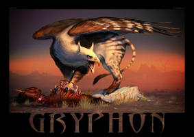 Gryphon by Akeiron