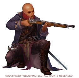 Alkenstar Arms Dealer by Akeiron