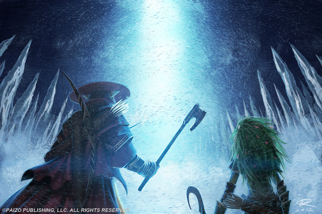 Winter Portal by Akeiron