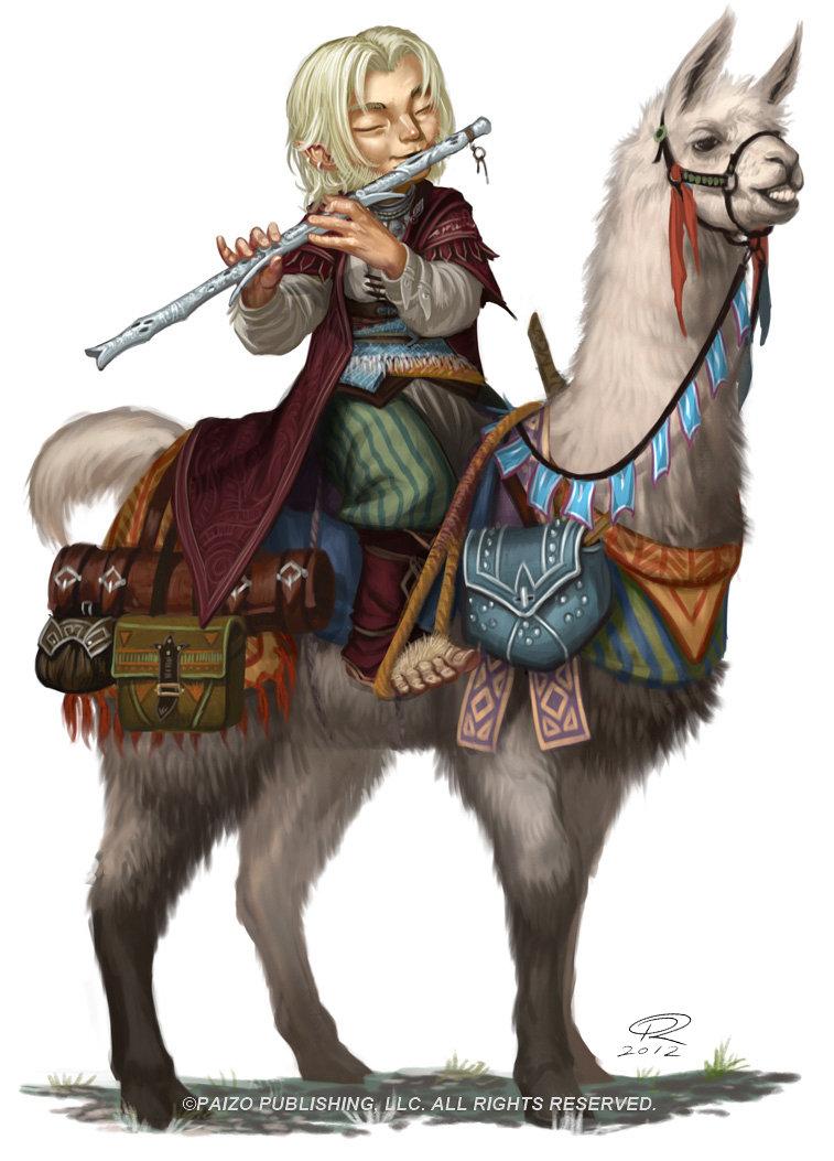 Bard on Llama by Akeiron