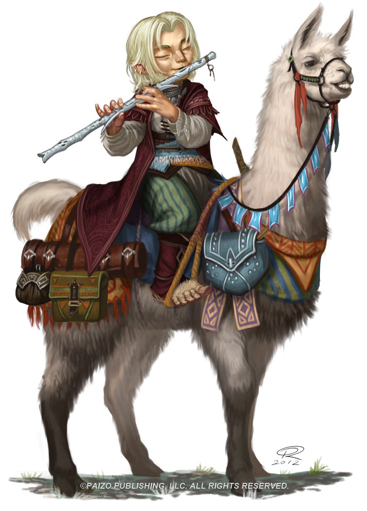 Bard on Llama by Akeiron