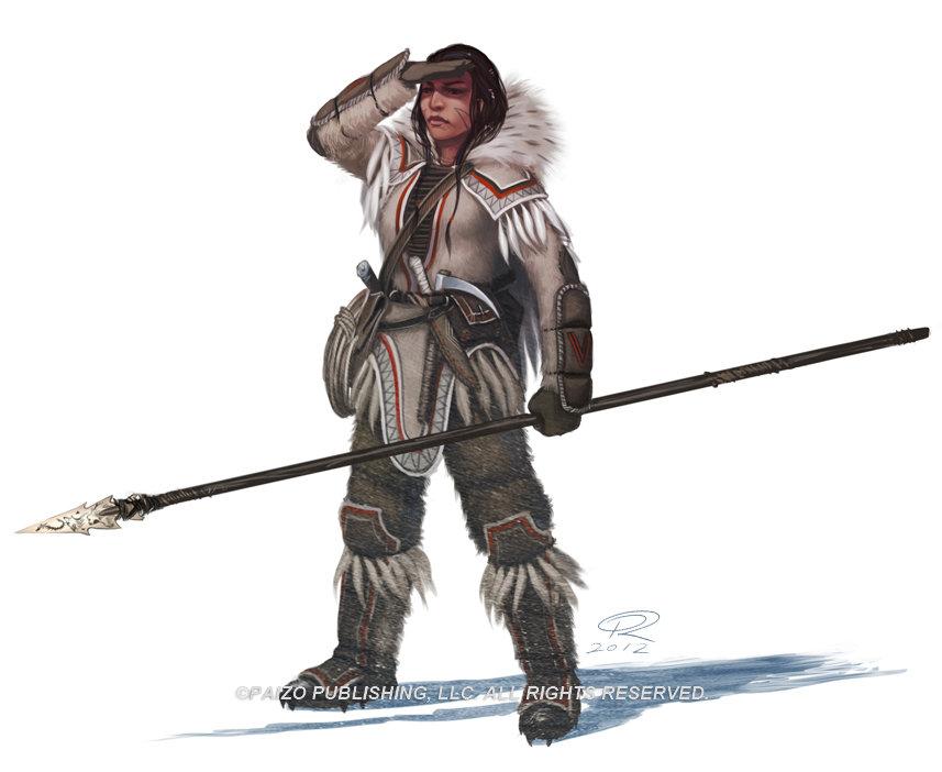 Varki Huntress by Akeiron