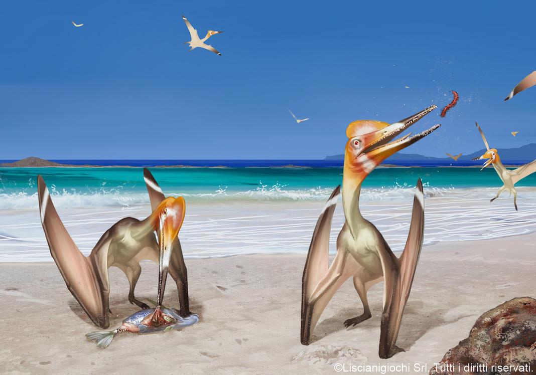 Pterodactylus antiquus by Akeiron