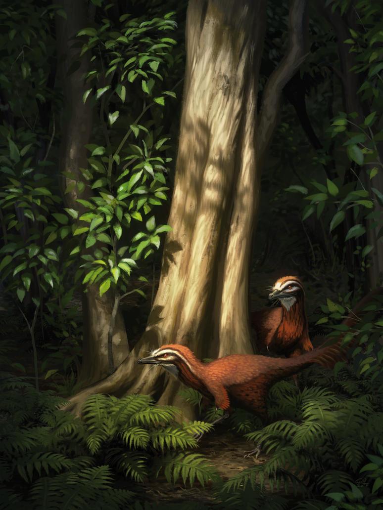 Alvarezsaurus by Akeiron