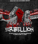 Wwe Rebellion 2012 Poster