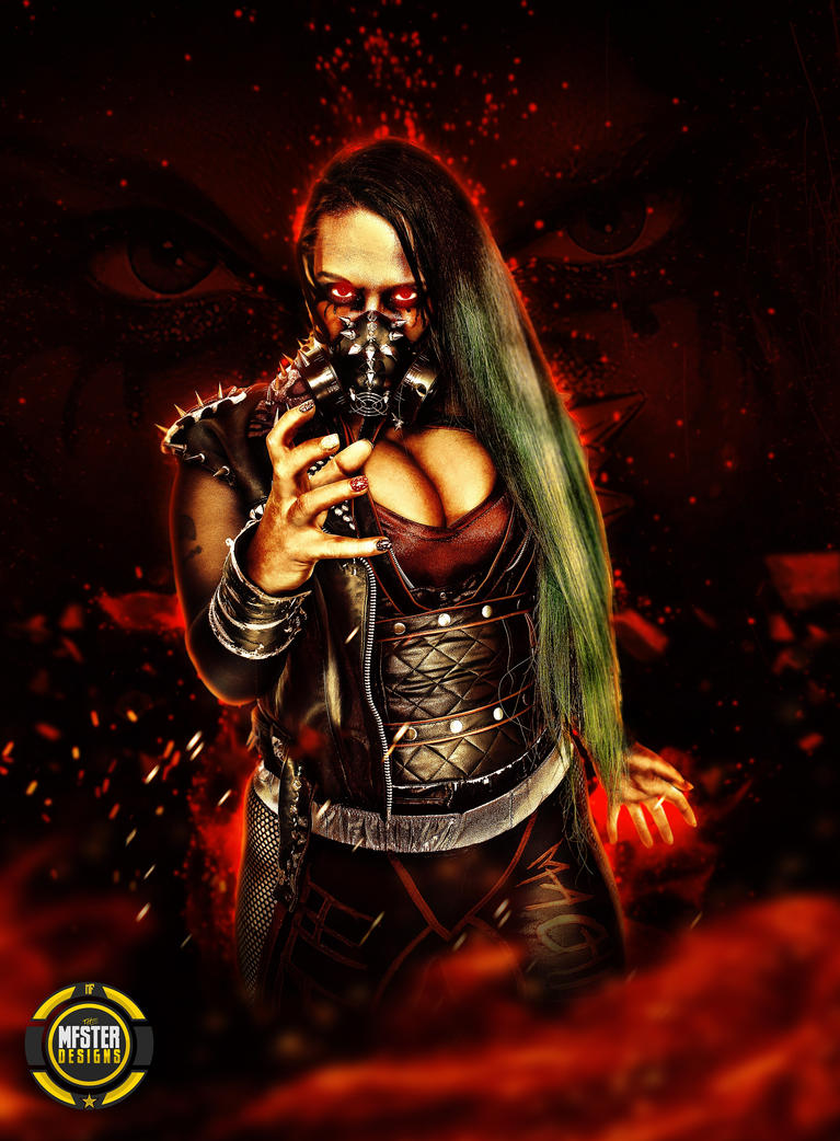 Jessicka Havok Destruction  Poster by Mohamed-Fahmy