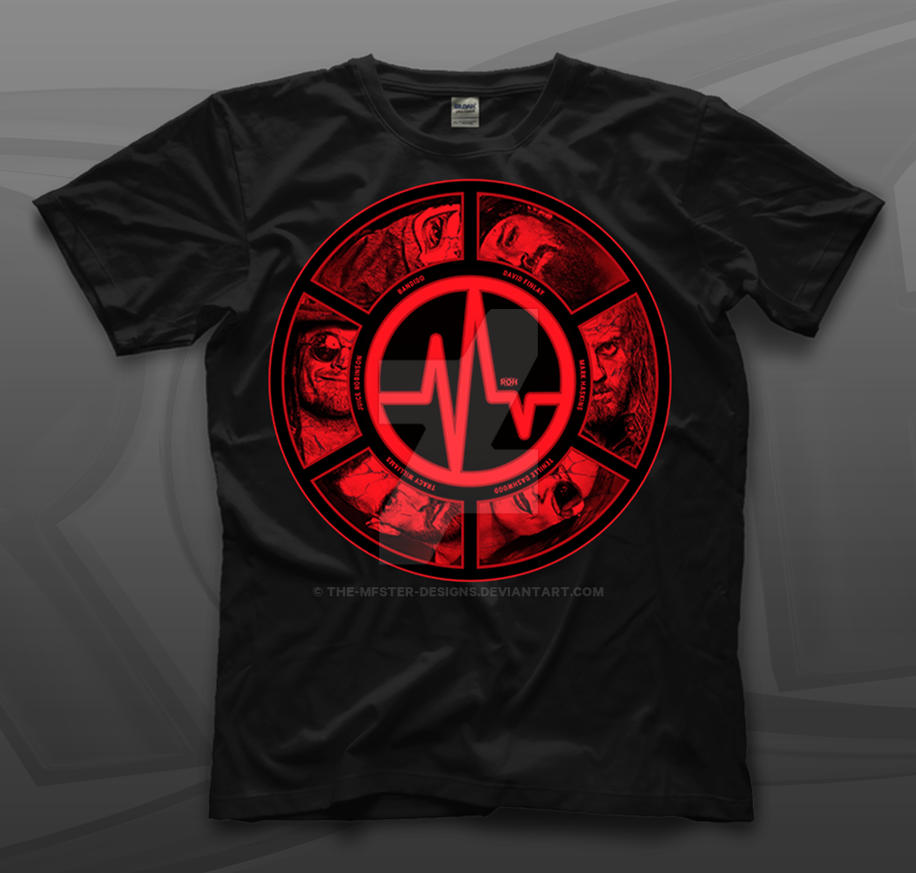 71f93b11f ROH Lifeblood Roster T-shirt design by THE-MFSTER-DESIGNS