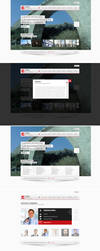 Albanian Engineering Web Design by blottah