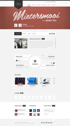 Enia - Professional PSD template