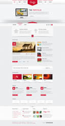Rosster - Interactive PSD Theme by blottah