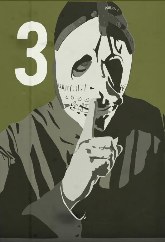 Slipknot-Chris Fehn#3 by ARandomUserl-l