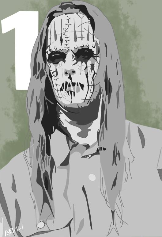 Slipknot-Joey Jordison #1 (Remake) by ARandomUserl-l