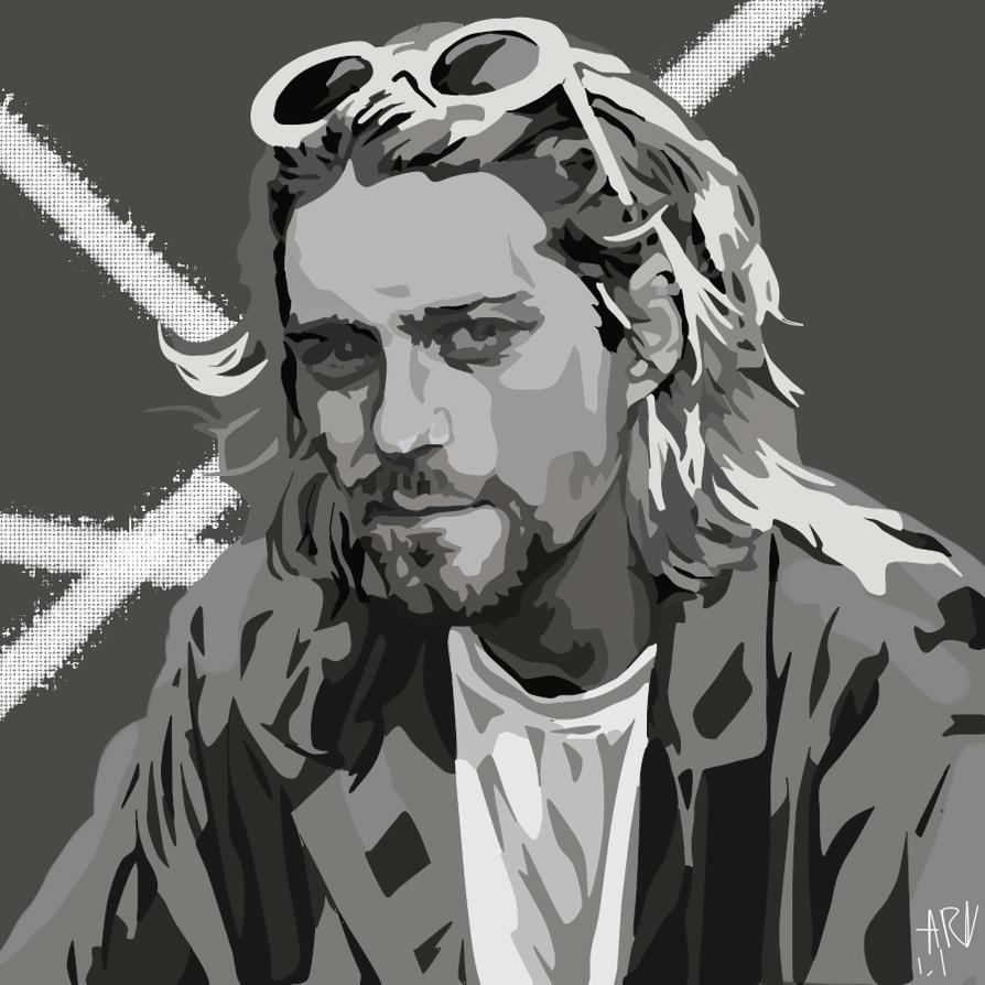 Kurt Cobain by ARandomUserl-l