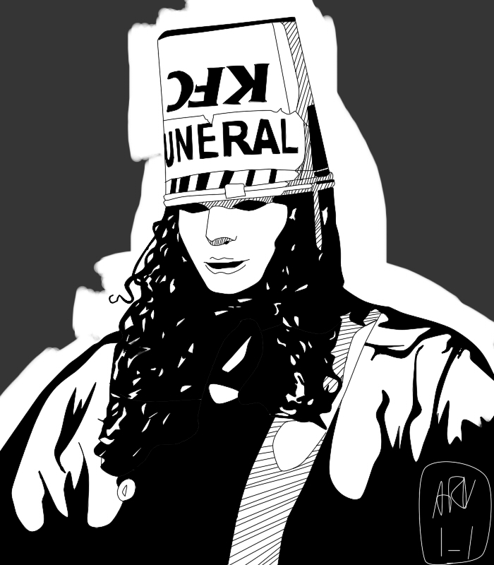 BucketHead / Experimenting with art style by ARandomUserl-l