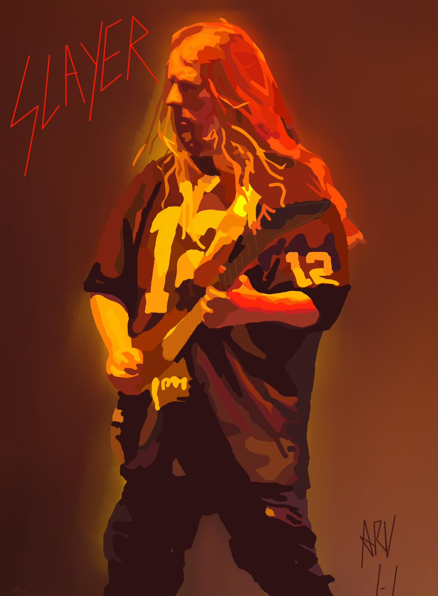 Jeff Hanneman R.I.P by ARandomUserl-l