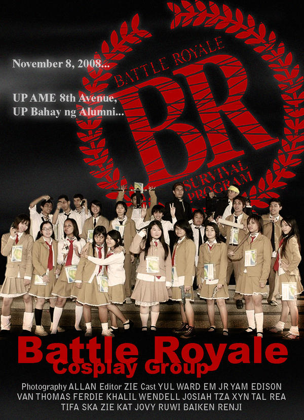 Battle Royale Cosplay Group by zienta