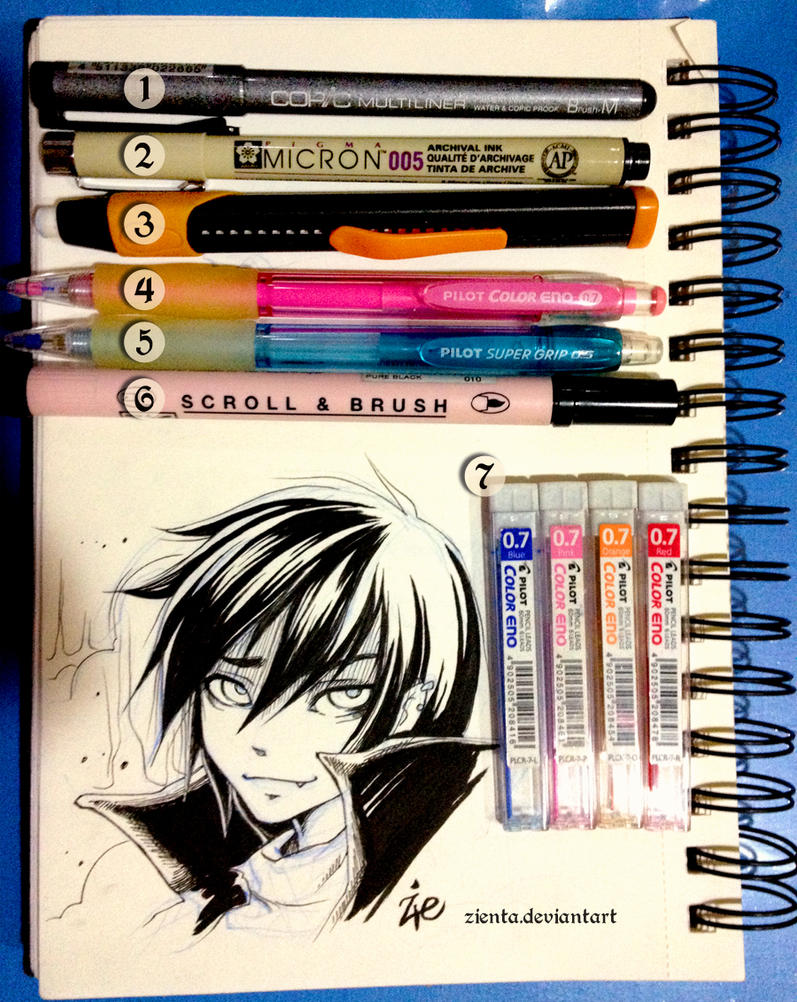 Trad Tools For Manga By Zienta On Deviantart