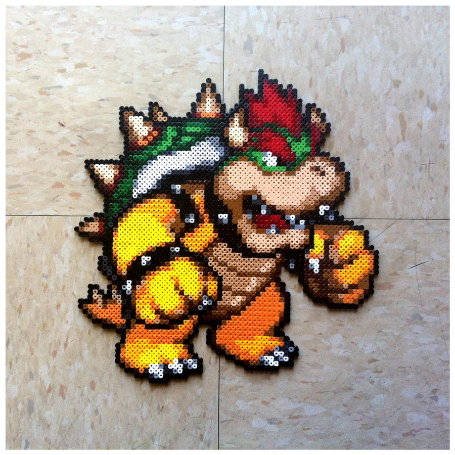 Bowser Bead Sprite by Night-TAG
