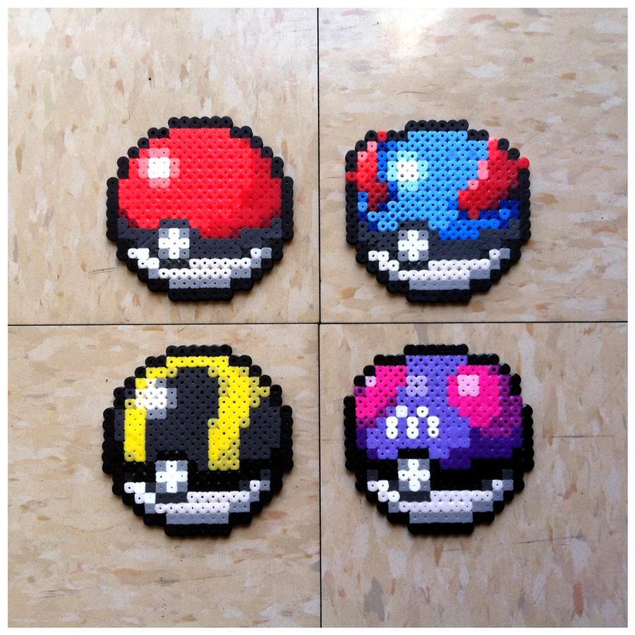 Pokeball Pixel Art Grid For pokeball i pixel art   Pinteres