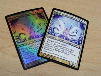 Magic: The Gathering - Octopus Angel Card Proxies