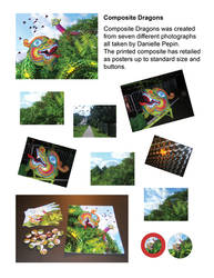 Composite Dragons - Start to Finished Products by Dandy-L