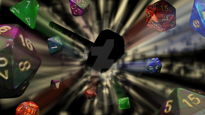 Dix Dice Explosion - Twitch Profile Banner by Dandy-L