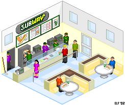 Pixel Subway by rhysd