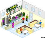 Pixel Subway