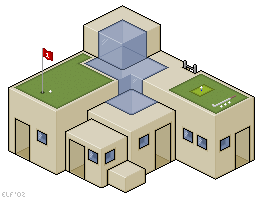 Pixel Golf Club by rhysd