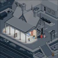 Trainstation: Night by rhysd