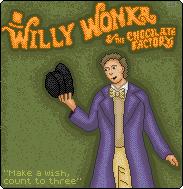 Willy Wonka - Pixel by rhysd