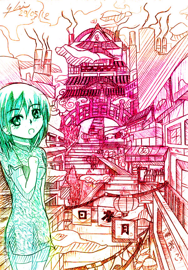 World of dream by Shirahakun