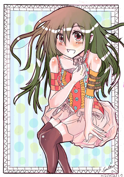 Kawai girl colo by Shirahakun