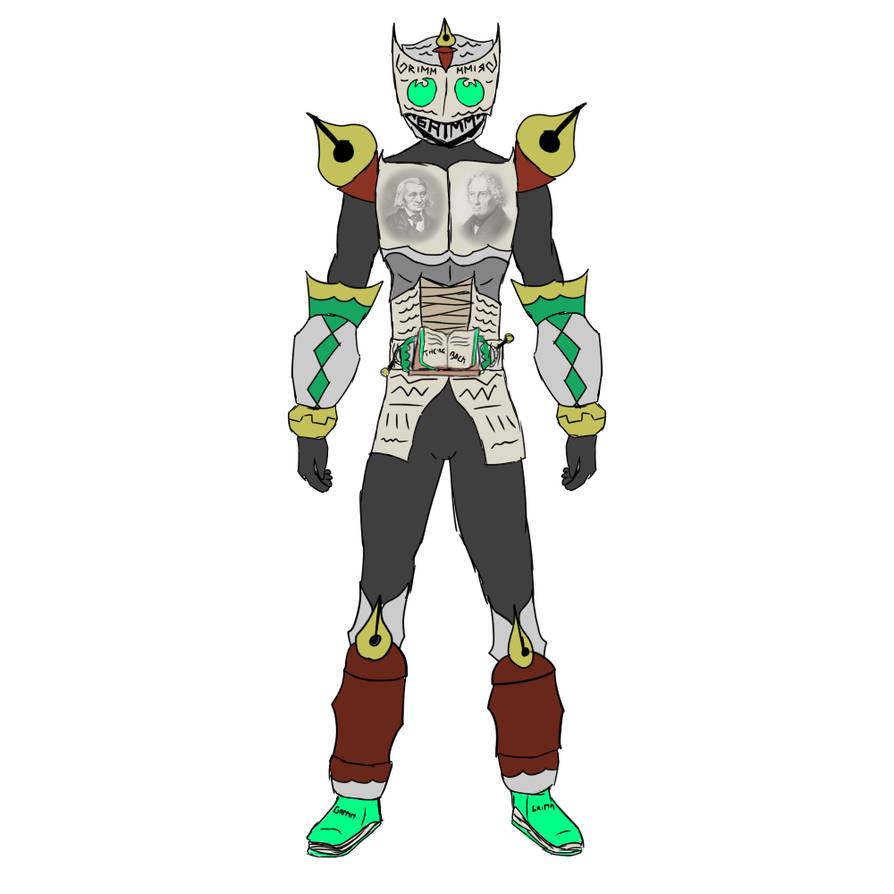 Kamen rider Grimm Grimm Returns by lemfern