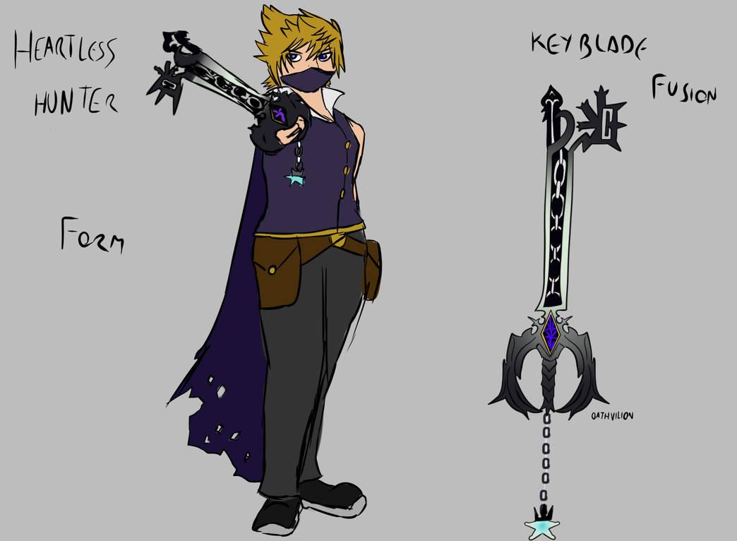 Roxas Heartless Hunter by lemfern