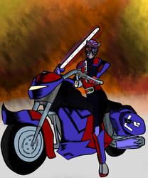 Inktober 28: Ride: Kamen Rider L