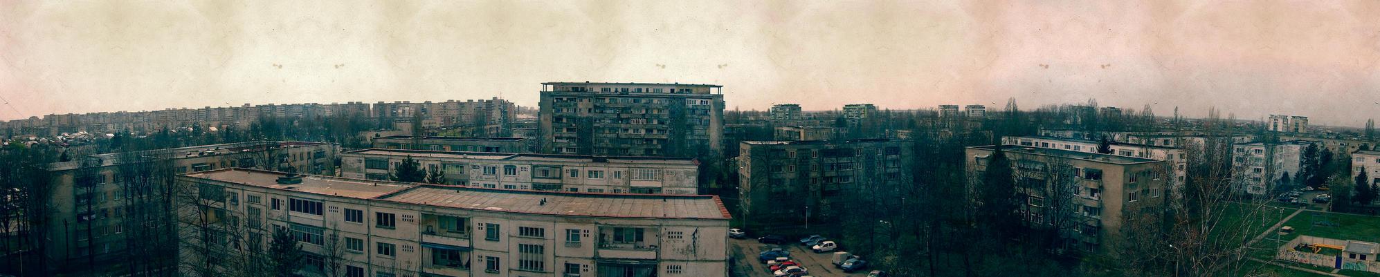 Panorama , Ploiesti Nord by anduSimion
